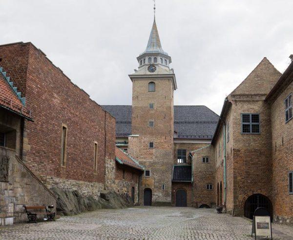 Крепость Акерсхус в Норвегии