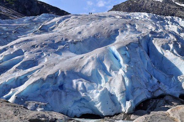 Ледник Юстедальсбреен в Норвегии