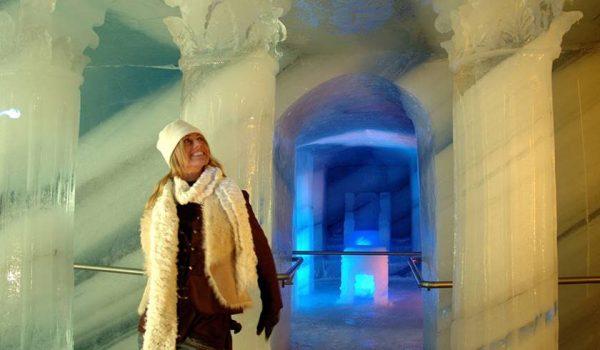 Ледяной дворец Dachstein Ice Palace в Австрии