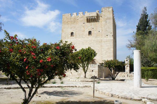 Лимасольский замок в городе