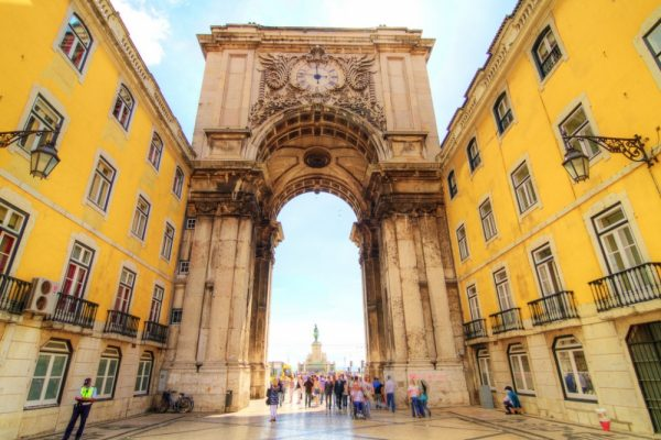 Здания в Лиссабоне