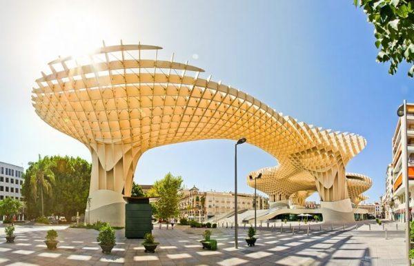 Метрополь Парасоль в городе Севилья