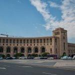 Здание МИД и энергетики в Ереване