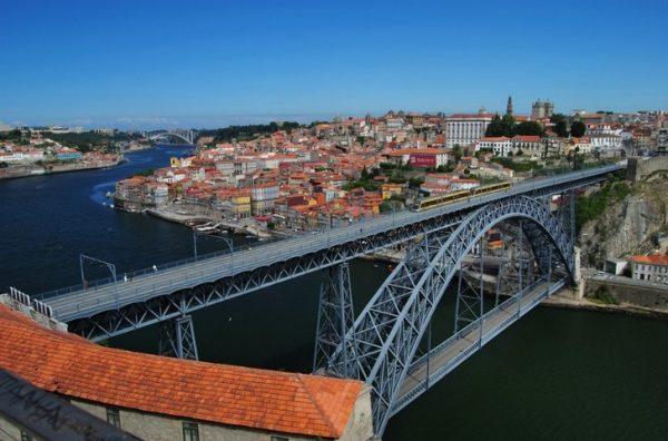 Мост дона Луиша между Порту и Вила-Нова-ди-Гая