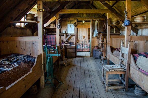 Музей в фермерском домике в городе Скагафьордур