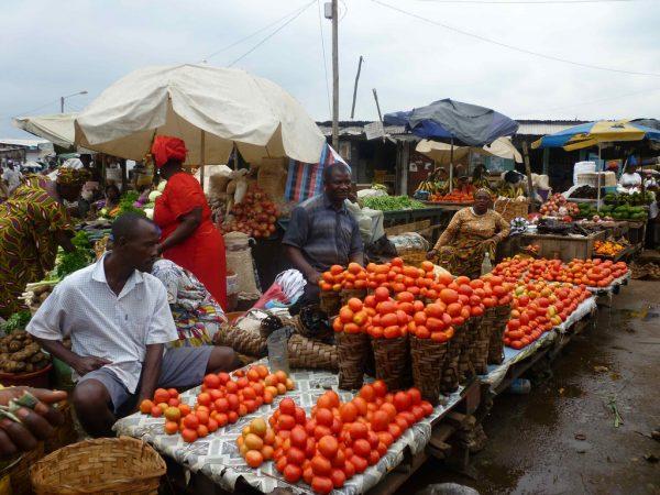 Народный рынок в Дуале