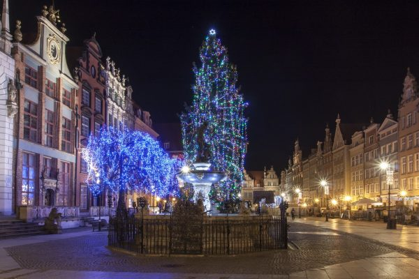 Нарядная площадь Гданьска