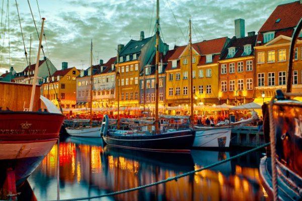 Район Копенгагена Нюхавн — Новая гавань