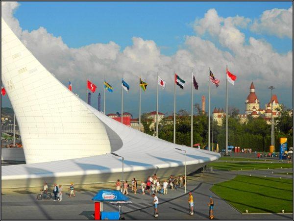 Олимпийский парк в Будапеште