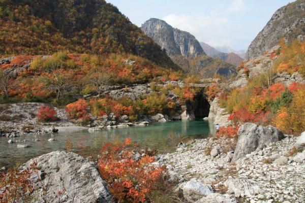 Осень в Албании