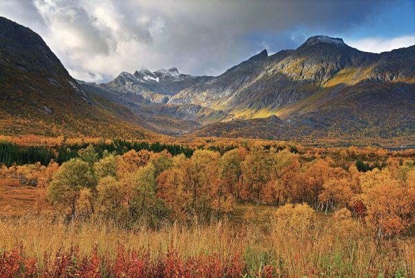 Осень в Норвегии