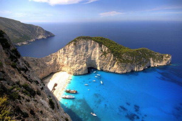Греческий остров Закинф