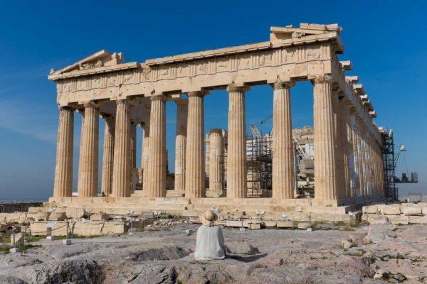 Парфенон в Греции