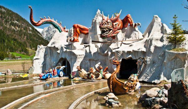 Парк развлечений Familienland в Тироле