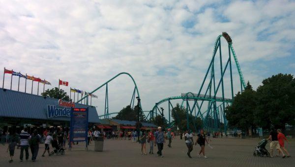 Парк «Страна чудес» в Канаде