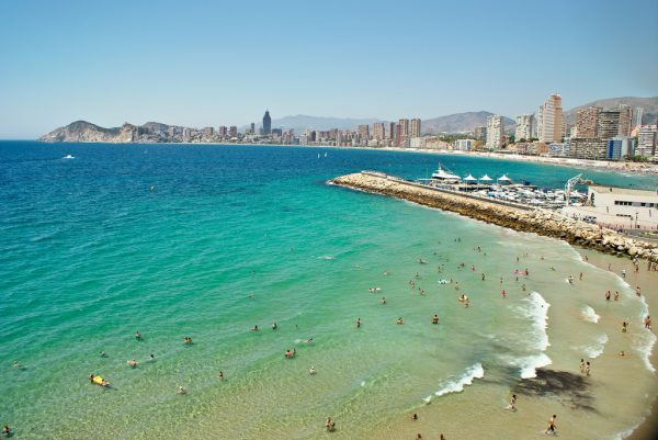 Один из пляжей Испании
