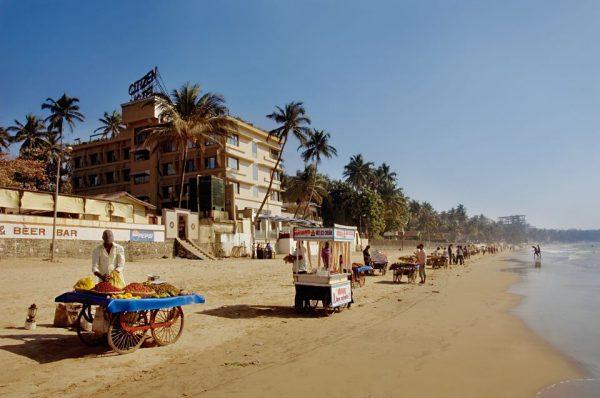 Пляж города Мумбаи