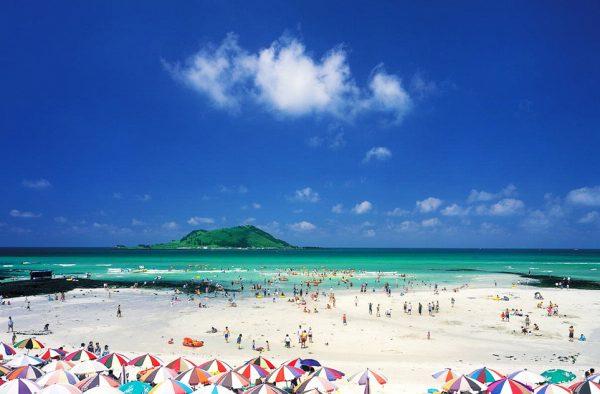 Один из пляжей Южной Кореи