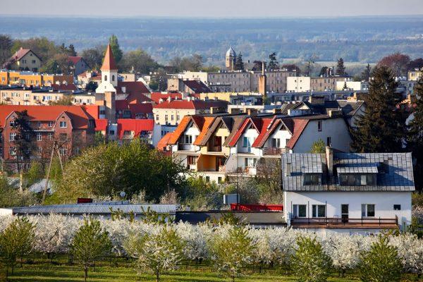 Окрестности одного из городов Польши