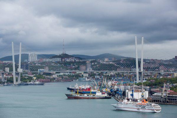 Город-порт в Индии