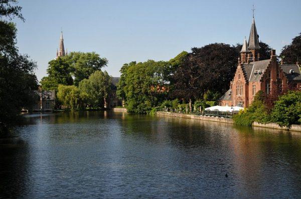 «Озеро любви» в Брюгге