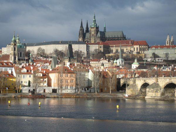 Вид Праги с воды