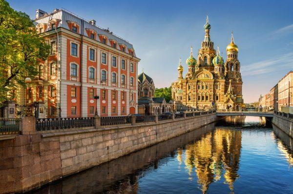 Набережная одного из городов России