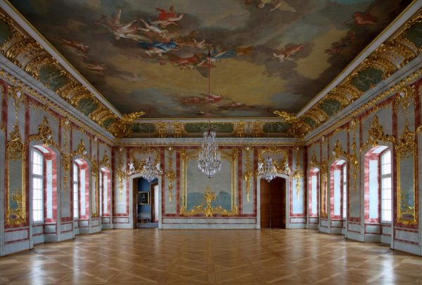 Интерьеры Рундальского дворца
