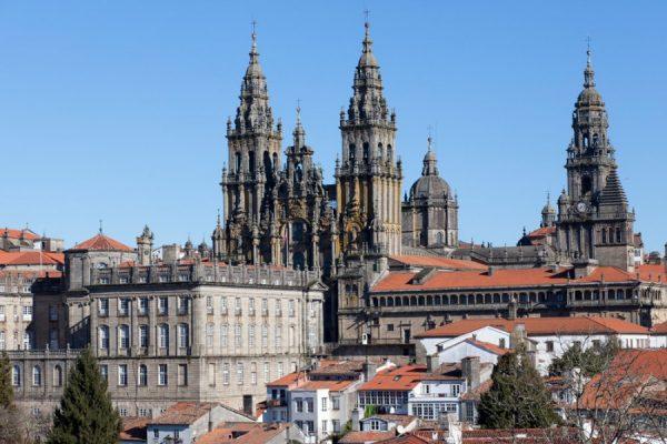 Сантьяго-де-Компостела в Испании