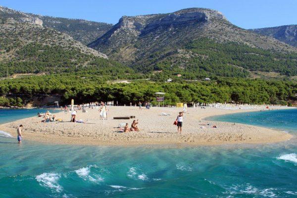 Средняя Далмация — пляжи