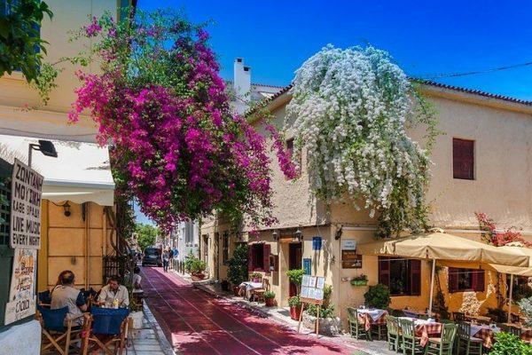 Старый район Афин — Плака