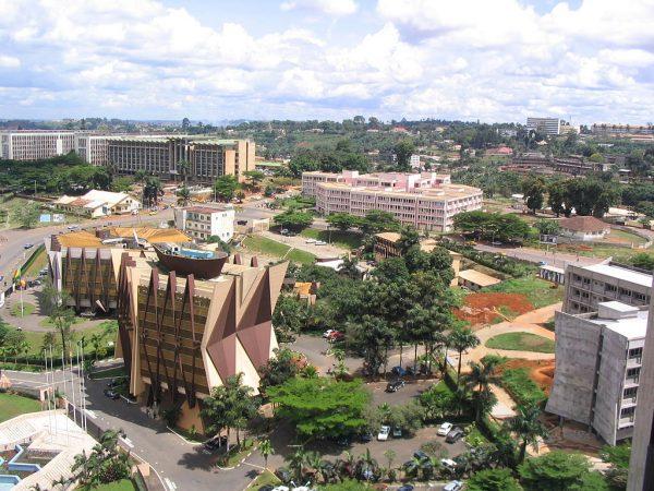 Столица Камеруна Яунде