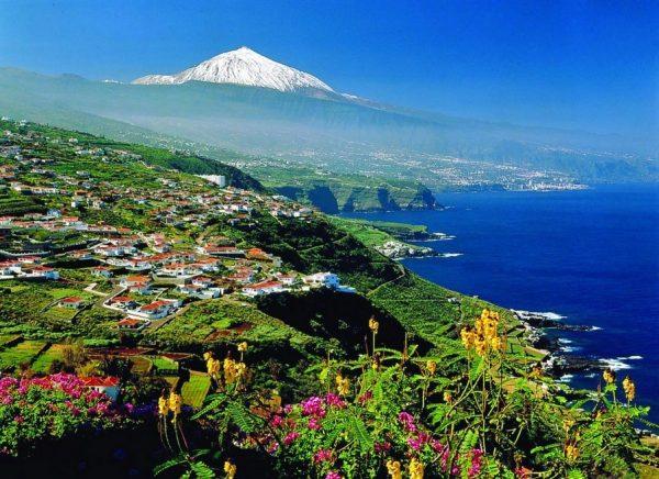 Остров Тенерифе в Канарском архипелаге