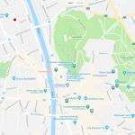 Туристическая карта центра Граца