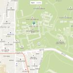 Туристическая карта центра Сеула с парком