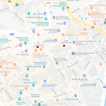Туристические объекты Льежа на карте