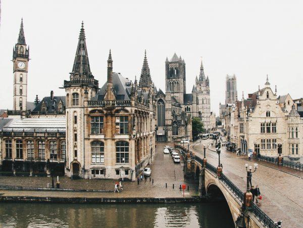 Улица бельгийского города
