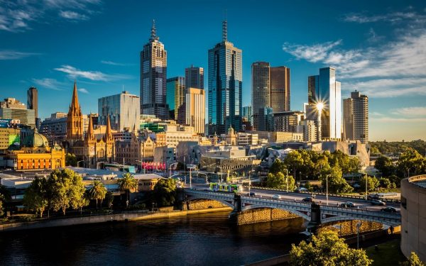 Улицы Мельбурна