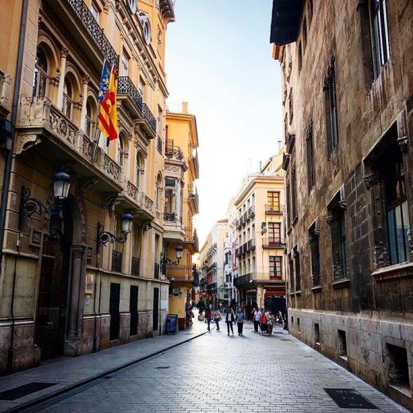 Улица в испанском городе