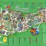 Карта парка Леголенд в Биллунде