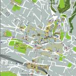 Вариант карты части города Лозанна
