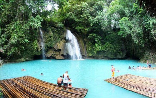 Водопад Кавасан на острове Себу