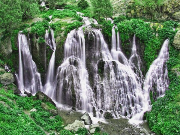 Водопад Шаке