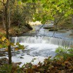 Водопад в парке Лахемаа