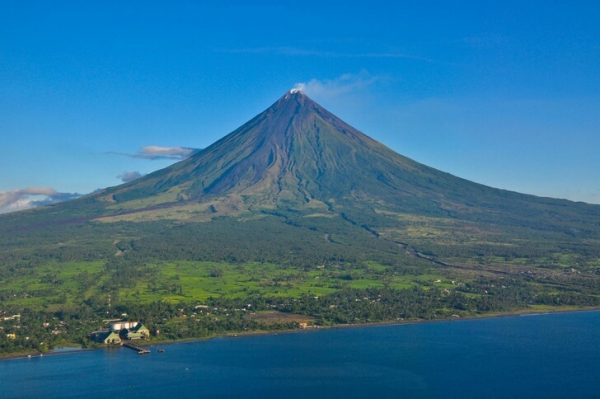 Вулкан Майон в Филиппинах