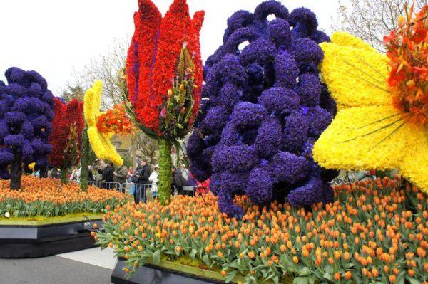 Выставка цветов в Кекенхофе