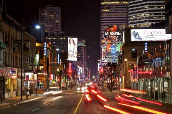 Янг-Стрит в Торонто