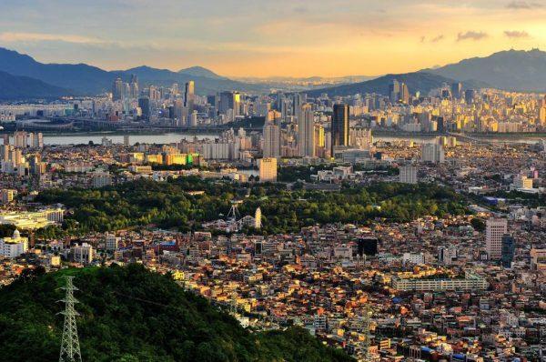 Город в Южной Корее