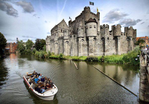 Гравенстен — замок графов Фландрии в Генте