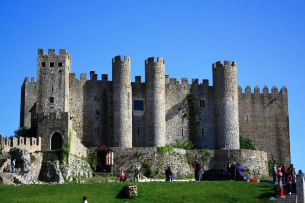 Замок Обидуш в Португалии